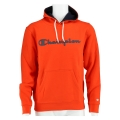 Champion Hoodie Big Logo Print 2019 orange Herren