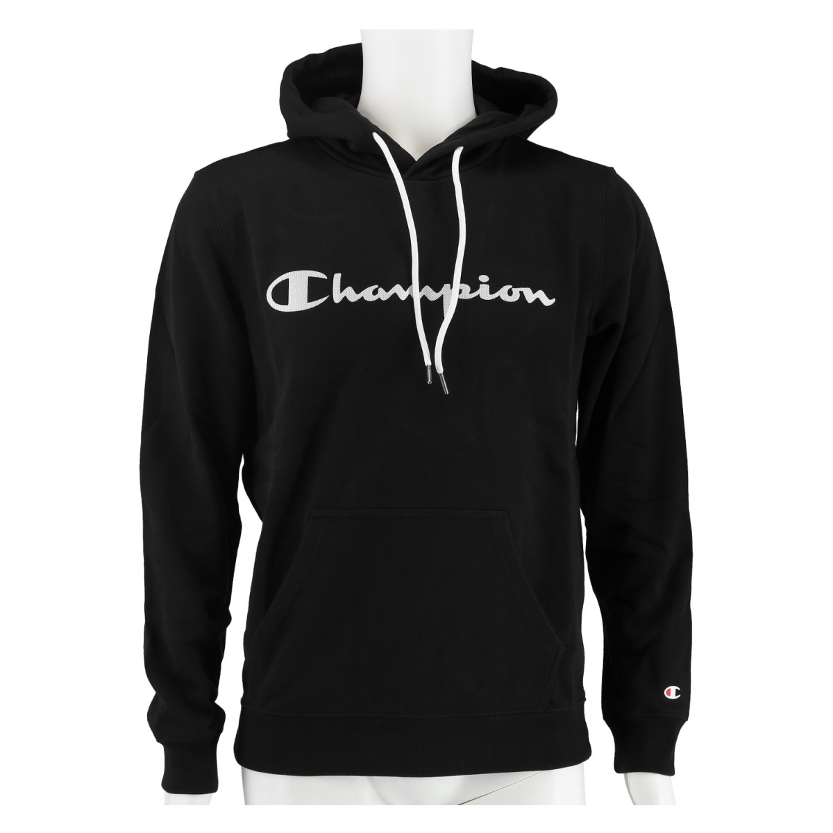 Champion Hoodie Big Logo Print 2020 schwarz Herren