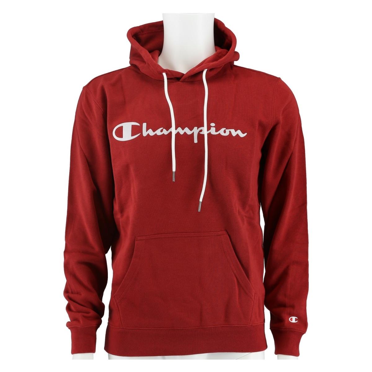 Champion Hoodie Big Logo Print 2020 braun Herren