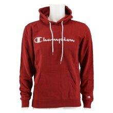 Champion Kapuzenpullover (Hoodie) Big Logo Print weinrot Herren