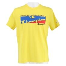 Champion Tshirt (Baumwolle) Graphic Shop Print 2021 gelb Herren