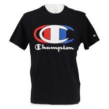 Champion Tshirt (Baumwolle) Graphic Shop C-LOGO 2021 schwarz Herren