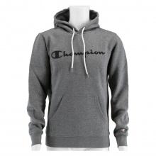 Champion Kapuzenpullover Hoodie Logo Print (gefüttert) 2020 hellgrau Herren