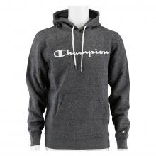 Champion Kapuzenpullover Hoodie Logo Print (gefüttert) 2021 grau Herren