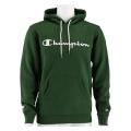 Champion Kapuzenpullover Hoodie Logo Print (gefüttert) 2020 dunkelgrün Herren
