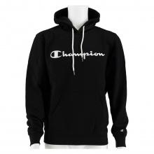 Champion Kapuzenpullover Hoodie Logo Print (gefüttert) 2020 schwarz Herren