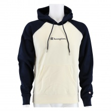 Champion Kapuzenpullover Hoodie (gefüttert) Cream&Colour beige/navy Herren