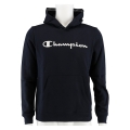 Champion Hoodie Big Logo Print 2019 navy Boys