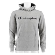Champion Hoodie Big Logo Print 2019 hellgrau/navy Boys