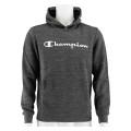 Champion Hoodie Big Logo Print 2019 dunkelgrau/schwarz Boys