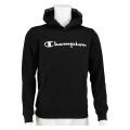 Champion Hoodie Big Logo Print 2019 schwarz Boys