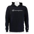Champion Hoodie Classic Big Logo Print 2020 navy Boys