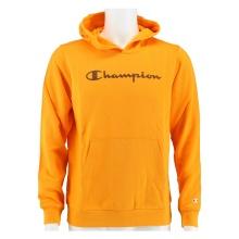 Champion Hoodie Classic Big Logo Print 2020 orange Boys