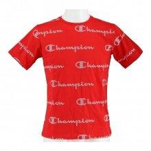 Champion Freizeit-Tshirt (Baumwolle) Graphic Print 2021 rot Jungen/Boys