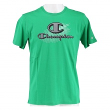 Champion Tshirt (Baumwolle) Graphic Shop Print 2021 grün Jungen/Boys