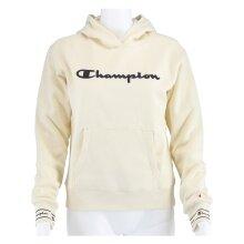 Champion Hoodie Big Logo Print 2019 beige Girls