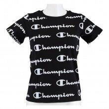 Champion Freizeit-Tshirt (Baumwolle) Graphic Print 2021 schwarz Mädchen/Girls