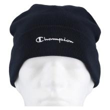 Champion Mütze (Beanie) Legacy Knit mit Schriftzug navy Kinder 1er