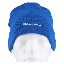 Champion Mütze (Beanie) Legacy Knit mit Schriftzug royalblau Kinder 1er