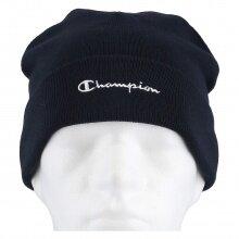 Champion Mütze (Beanie) Legacy Knit mit Schriftzug navy 1er