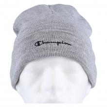 Champion Mütze (Beanie) Legacy Knit mit Schriftzug hellgrau Kinder 1er