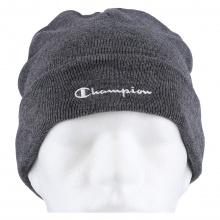 Champion Mütze (Beanie) Legacy Knit mit Schriftzug dunkelgrau Kinder 1er