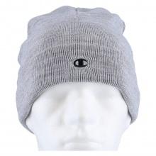 Champion Mütze (Beanie) Legacy Knit mit C-Logo hellgrau Kinder 1er