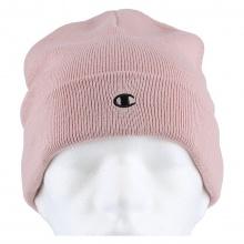 Champion Mütze (Beanie) Legacy Knit mit C-Logo rosa Kinder