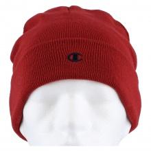 Champion Mütze (Beanie) Legacy Knit mit C-Logo rot Kinder 1er