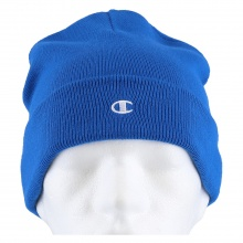 Champion Mütze (Beanie) Legacy Knit mit C-Logo royalblau 1er