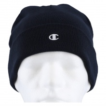 Champion Mütze (Beanie) Legacy Knit mit C-Logo navy 1er