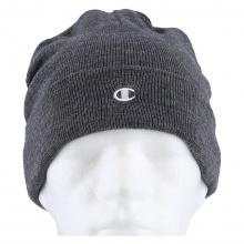 Champion Mütze (Beanie) Legacy Knit mit C-Logo dunkelgrau 1er