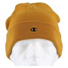 Champion Mütze (Beanie) Legacy Knit mit C-Logo senfgelb 1er