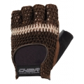 Chiba Fitness Handschuhe Athletic braun