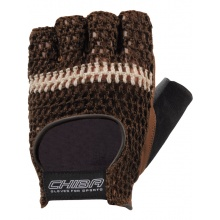 Chiba Handschuhe Fitness Athletic braun