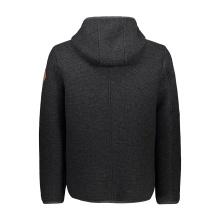 CMP Fleecejacke (Sweatshirt) mit Reißverschluss aus Wooltech carbon Herren