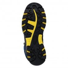 CMP Wanderschuh Rigel Mid WP (waterproof/wasserdicht) dunkelblau/gelb Kinder
