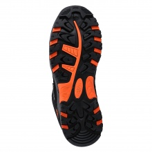 CMP Wanderschuh Rigel Low WP (waterproof/wasserdicht) hellgrau/orange Junior