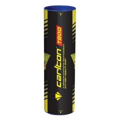 Carlton T800 Nylonbälle gelb 6er