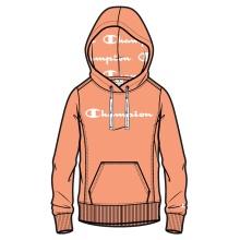 Champion Kapuzenpullover (Hoodie) American Classic Logo 2021 orange Damen