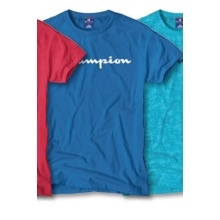Champion Tshirt Big Print 2018 royal Herren