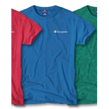 Champion Tshirt Small Print 2018 royal Herren
