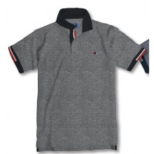 Champion Polo Oxford Piquet 2018 grau/schwarz Herren