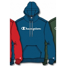 Champion Kapuzenpullover Hoodie Logo Print (gefüttert) 2020 royalblau Herren