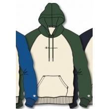 Champion Kapuzenpullover Hoodie (gefüttert) Cream&Colour 2020 beige/grün Herren