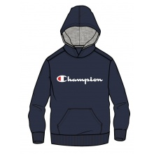Champion Hoodie Big Logo Print 2018 navy Boys