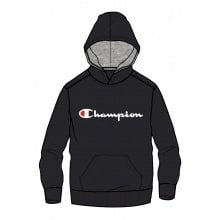 Champion Hoodie Big Logo Print 2018 anthrazit Boys