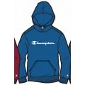 Champion Hoodie Big Logo Print (gefüttert) 2020 royalblau Jungen
