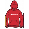 Champion Hoodie Big Logo Print (gefüttert) 2020 feuerrot Jungen