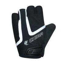 Chiba Fahrrad Handschuhe Gel Air Reflex schwarz/weiss